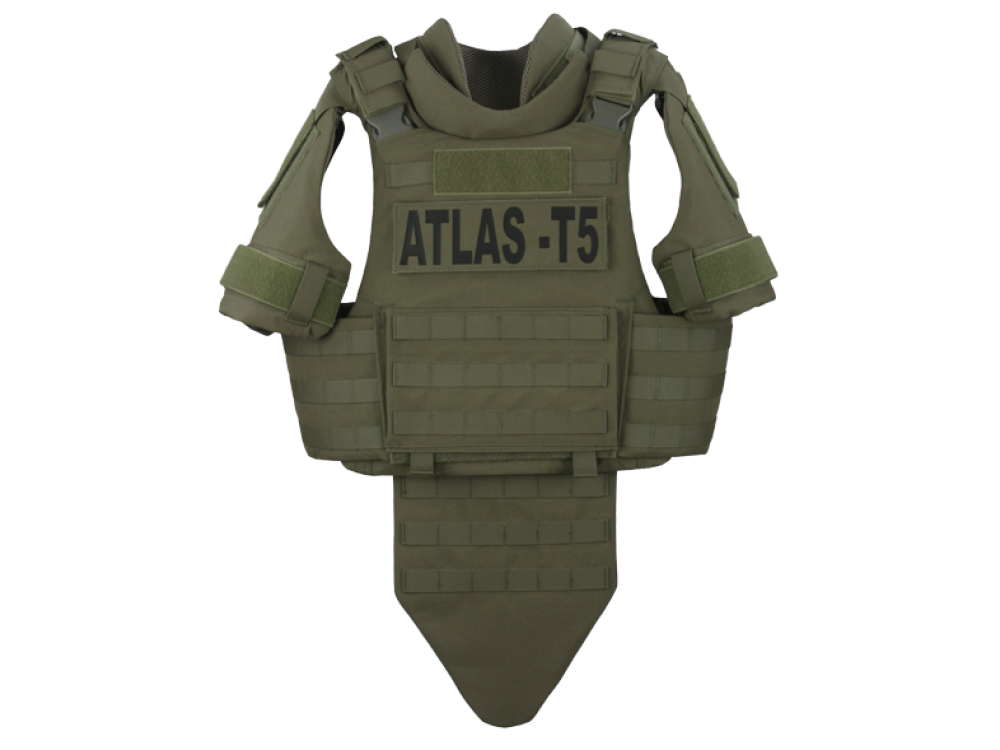 Atlas T5 Extended Coverage Tactical Vest